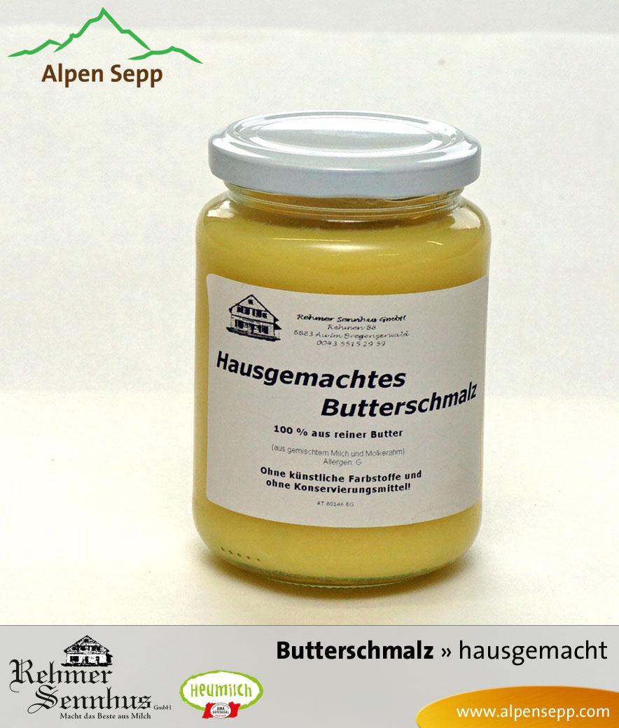 Bregenzerwälder hausgemachtes Butterschmalz, 350 Gramm