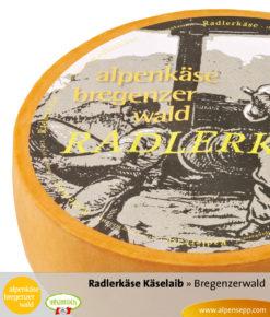 Bregenzerwälder Radlerkäse Käselaib