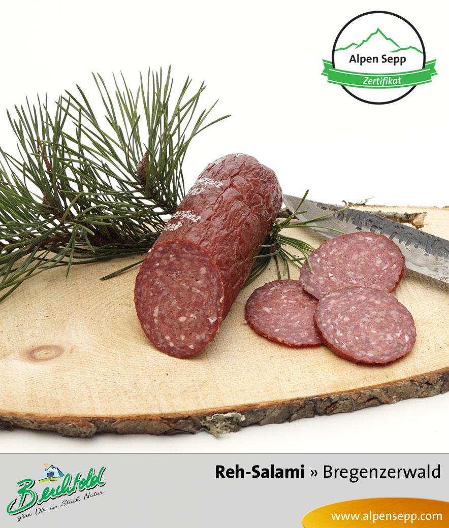 Bregenzerwälder Reh Salami