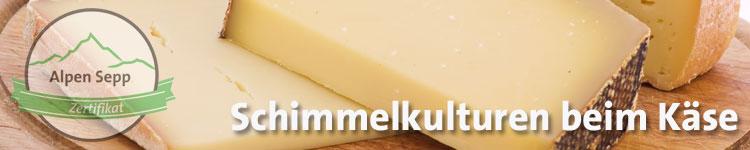 Schimmelkulturen im Käsewiki vom Alpen Sepp