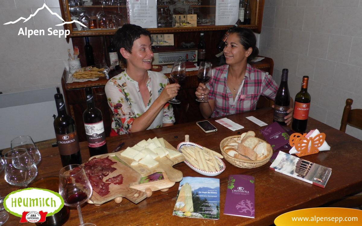 Weintipp: Alpen Sepp Einladung zur Weinverkostung in das Weingut Crosarola, Fumane – Valpolicella