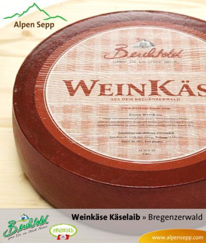 Bregenzerwälder Weinkäse Käselaib