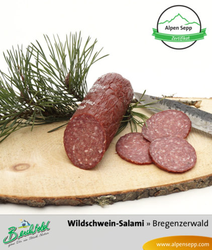 Bregenzerwälder Wildschwein Salami