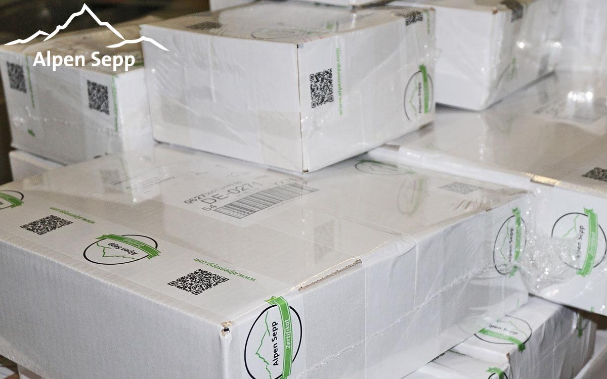 Alpen Sepp Verpackung
