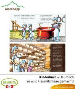 Heumilch Kinderbuch: Aha so wird Heumilchkaese gemacht