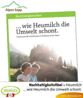 Fibel - Lesebuch: Wie Heumilch die Umwelt schont