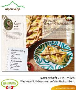 Heumilch Rezeptheft: Was Heumilchbäuerinnen auf den Tisch zaubern