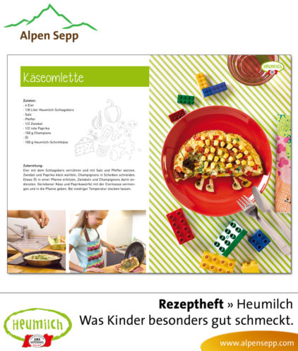 Rezeptheft Heumilch: Was Kindern besonders gut schmeckt