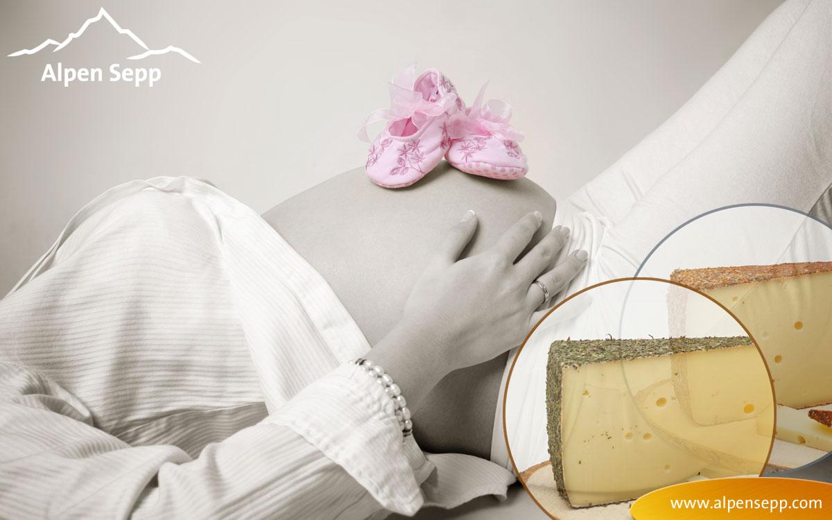 Kein Käse aus Rohmilch in der Schwangerschaft