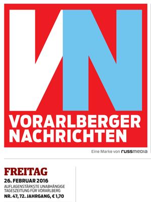 Alpen Sepp in den Vorarlberger Nachrichten