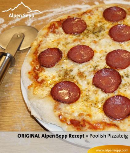 Rezept Pizzateig Poolish – Anleitung