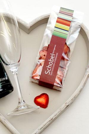 Süsser Gruss mit Erdbeer zum Muttertag