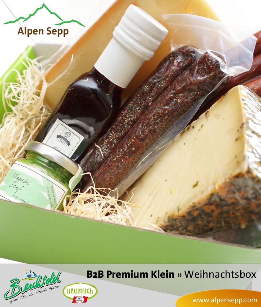 B2B Weihnachtsbox Premium klein