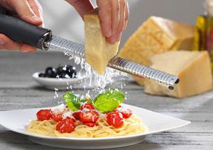 Reibe für Parmesan und Trentingrana
