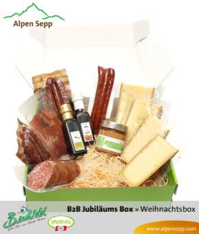 B2B Weihnachtsbox Jubiläum