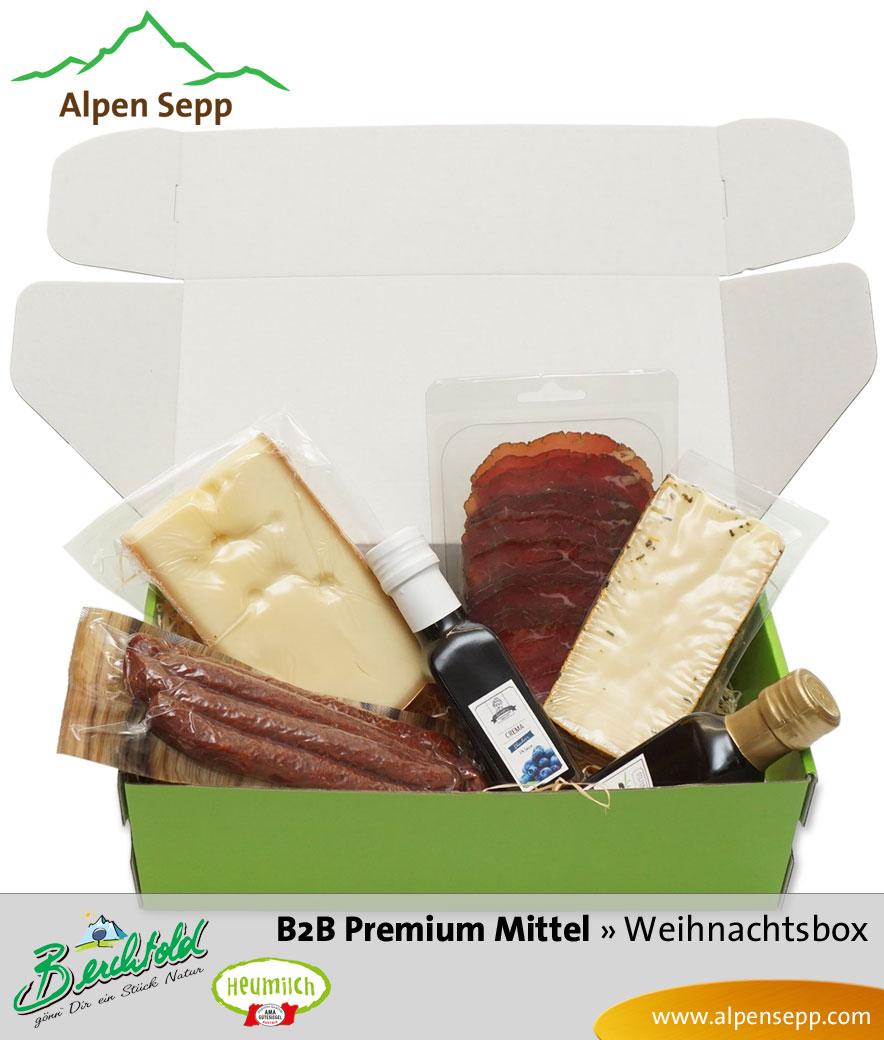 B2B Weihnachtsbox Premium mittel