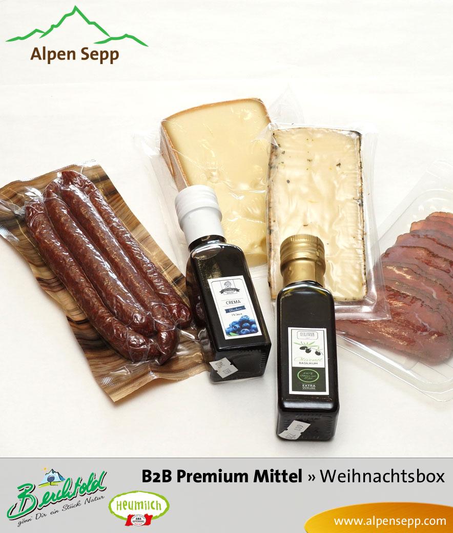 B2B Weihnachtsbox Premium mittel Einzelne Produkte