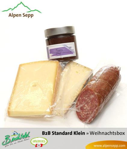 B2B Weihnachtsbox Standard klein einzelne Produkte