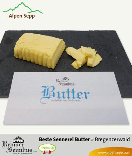 Beste Sennereibutter aus dem Bregenzerwald