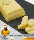 Beste Sennereibutter aus Heumilch im Weihnachtsset