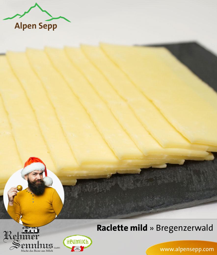 Raclette Käse mild