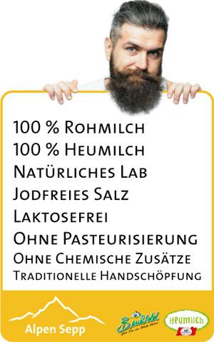 Vorteile von Alpenkäse vom Alpen Sepp