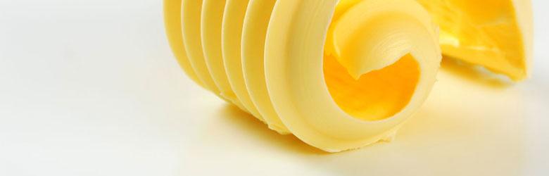 Leckere Rollen aus feinster Butter