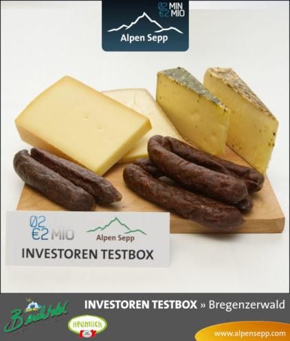 Investoren Testbox von Alpen Sepp aus der 2 Minuten 2 Millionen TV-Show