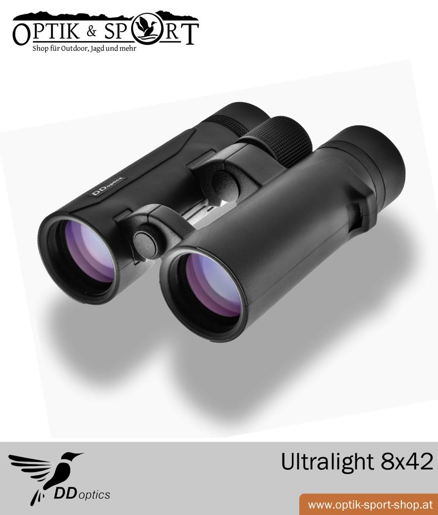 DDoptics Fernglas Ultralight 8x42