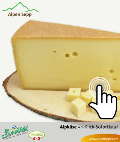 Bregenzerwälder Alpkäse Sofortkauf