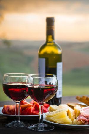 Wein und Käse beim Profi - ein Hochgenuss