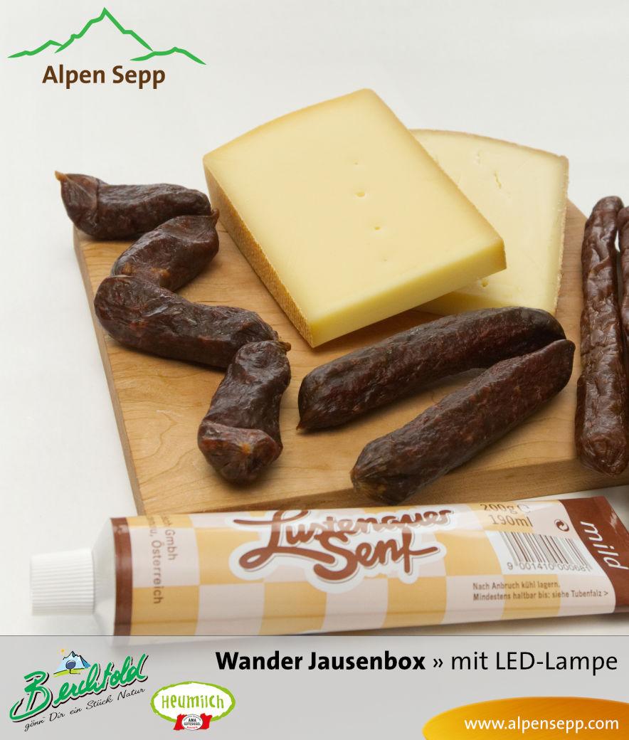 Alpen Sepp's Alpen Wanderbox - Wander Jausenbox