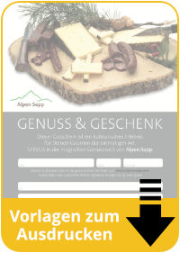 Download Druckvorlagen Gutscheine