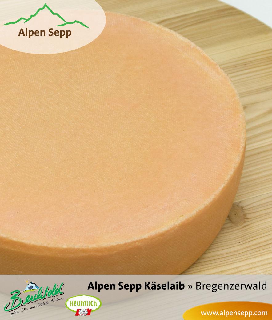 Alpen Sepp Käselaib aus 100 % Heumilch