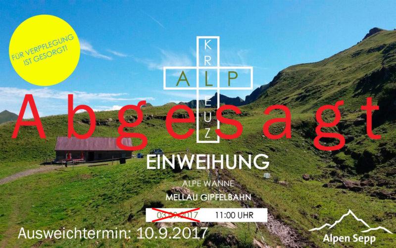Abgesagt-Alpkreuz-Wanna