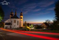 Gasthof Kreuz mit Kirche Bildstein