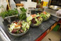 Käsespätzle Test Gasthaus Kreuz Bildstein - frische Salate