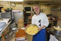Käsespätzle Gasthof Kreuz Bildstein - Michaels Kartoffelsalat - hausgemacht