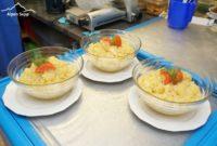 Käsespätzle Test Gasthof Kreuz Bildstein - Kartoffelsalat