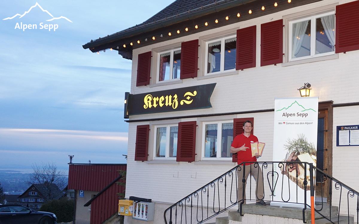 Käsespätzle Test Gasthaus Kreuz Bildstein