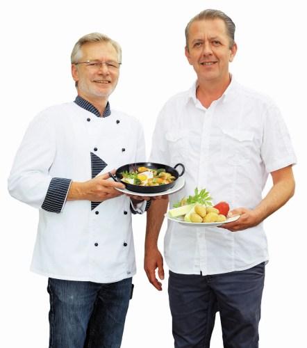 Michael und Stefan vom Gasthof Kreuz Bildstein