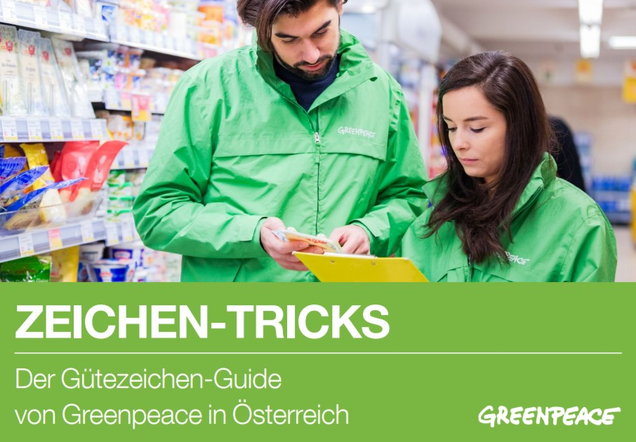 Greenpeace Gütesigel Tricks