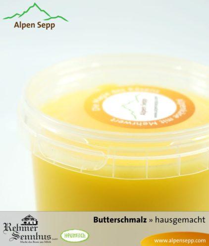 Premium Butterschmalz oder Ghee aus Heumilch
