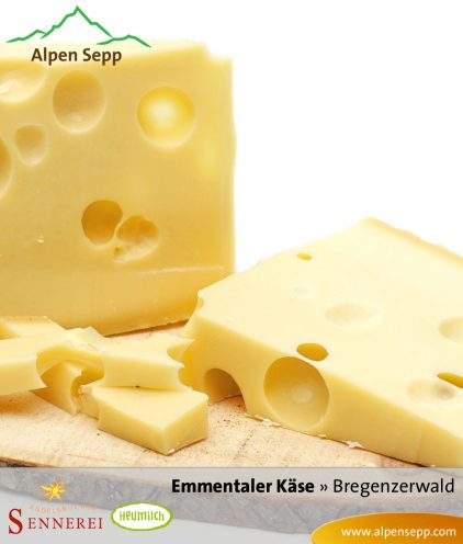 Emmentaler - Hartkäse Spezialität