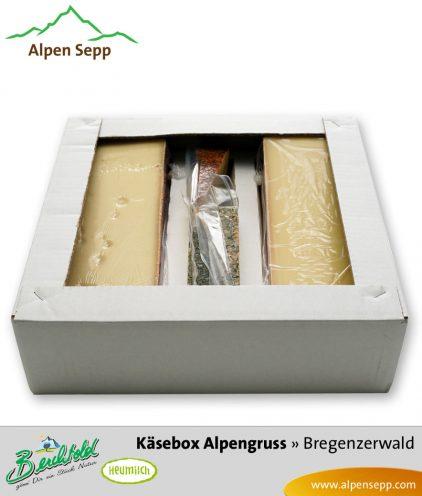 Geschenkbox Alpengruß - Hartkäse und Schnittkäse