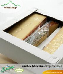 Geschenkbox Edelweiss - Käsevariation