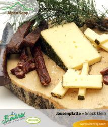 Jausen Box - klein - Wurst und Käse