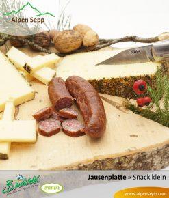 Snack Box klein - Wurst und Käse