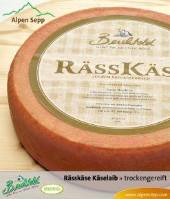 Rässkäse - trockengereift, Käselaib 6 kg