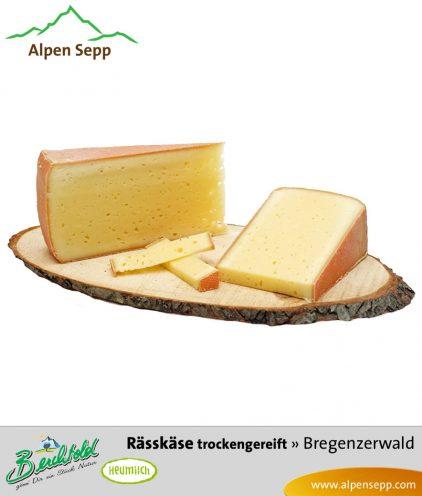 Rässkäse, trocken gereift - würziger Käse
